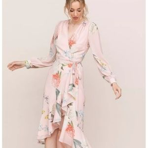 Yumi Kim Casanova wrap floral wrap Dress